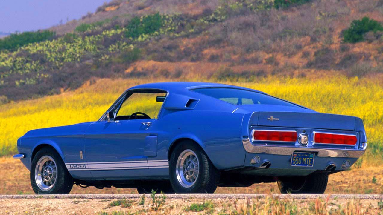 1967 mustang shelby gt 500 7 0 v8 335 hp 0 60 mph 68 s