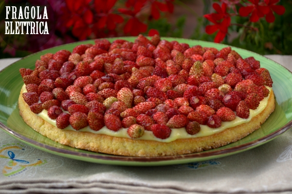 Crostata con Fragoline di Bosco