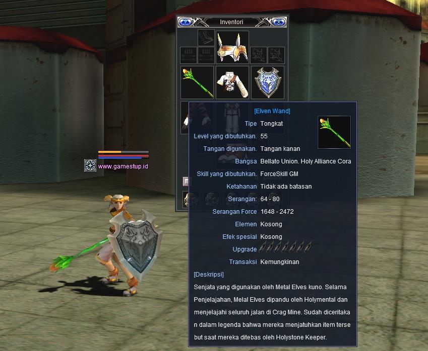 Senjata Elven Wand - RF Online