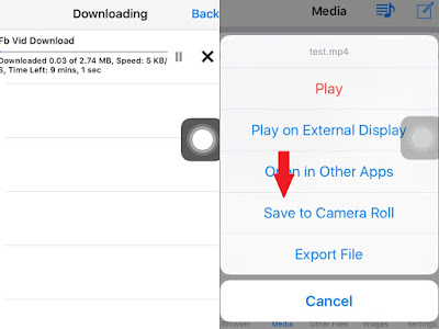 How to Download/Save Facebook Videos in iPhone/iPad