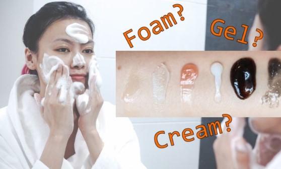 Perbedaan Facial Foam, Gel Dan Oil