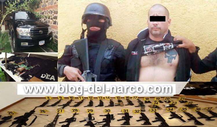 """""""El Fantasma"""" o """"El M3"""" brazo del CDS Con chalecos de la DEA asesinaba a sus victimas"""