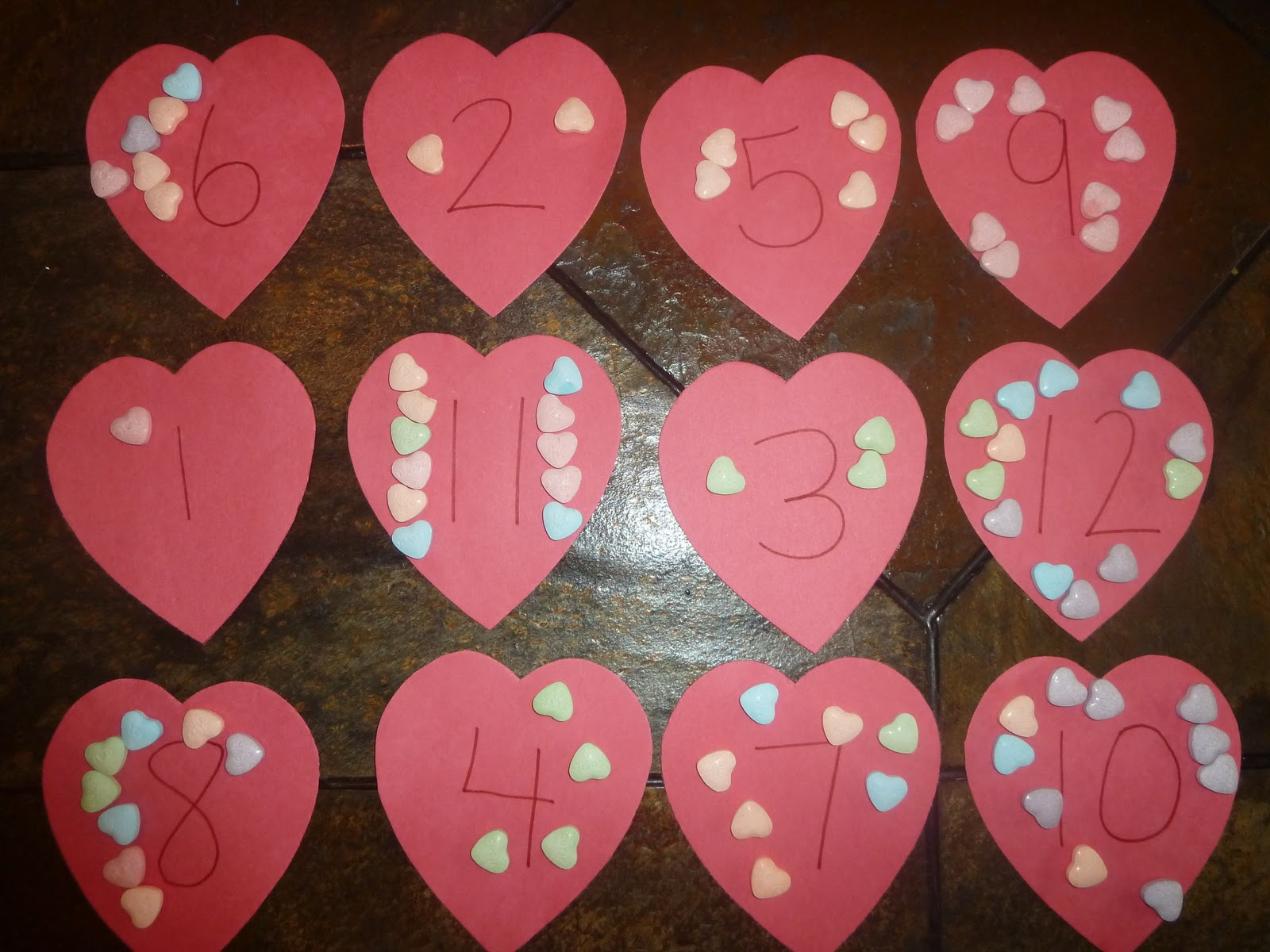 Mom To 2 Posh Lil Divas H Is For Heart Patterns Graphs Amp Food Math Fun Activities