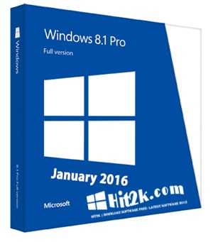 Windows 8.1 Pro 2016 Latest Free Download