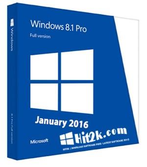 Windows 8.1 Pro 2016 Latest Free Download
