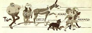 O terceiro, Mimmo - Corrieri dei Piccoli - 1908