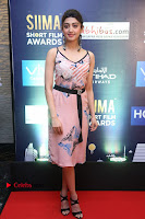 Actress Pranitha Subhash Pos in Short Dress at SIIMA Short Film Awards 2017 .COM 0033.JPG