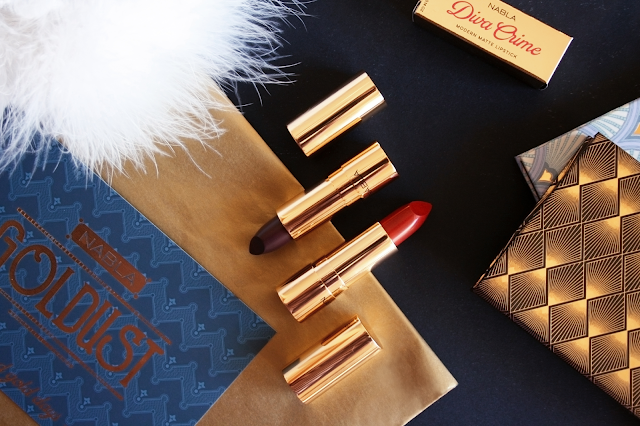 Nabla Cosmetics Goldust Collection - Moulin Rouge and Dilemma