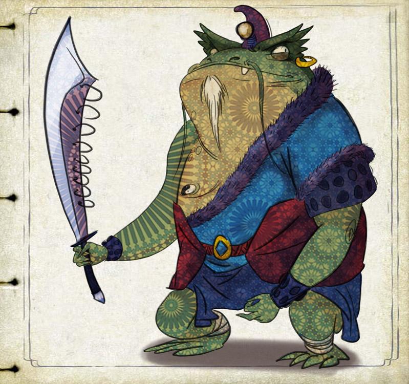 Bendragon Art: Master Toad