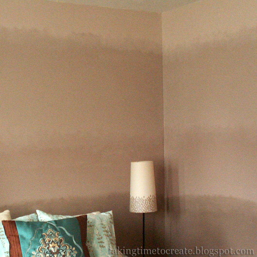 taking time to create blended ombre walls. Black Bedroom Furniture Sets. Home Design Ideas