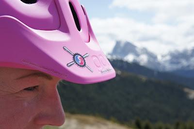 bike helm pink mtb