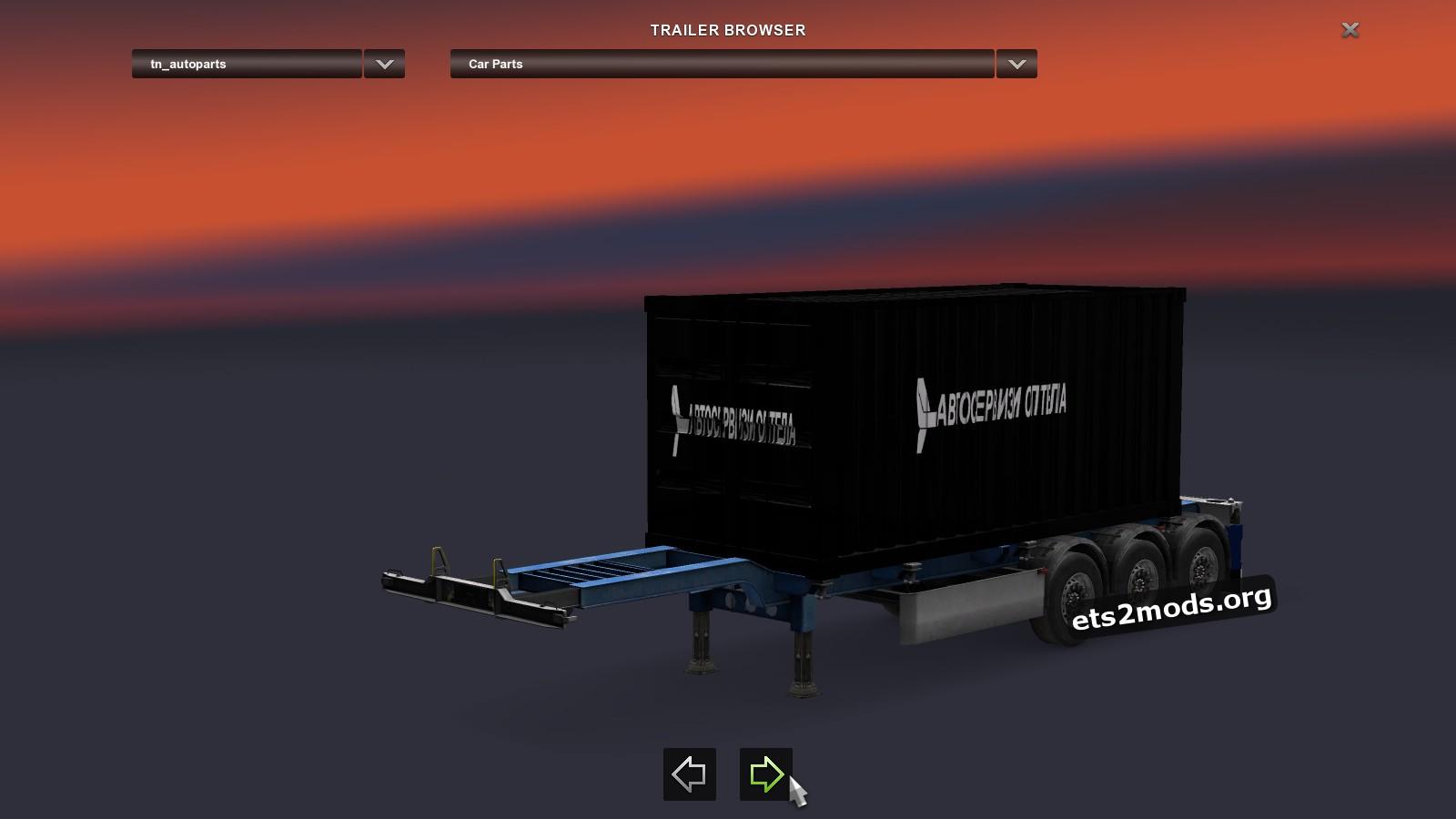 Trailer - Car Parts