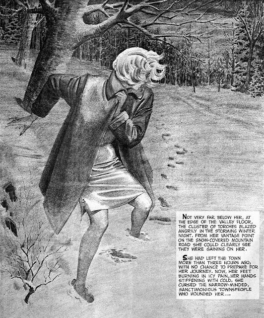 Johnny Craig 1960s comic art of persecution
