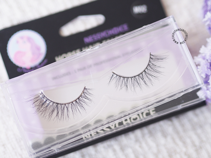 Trinznessychoice Mink Lashes and Horse Lashes