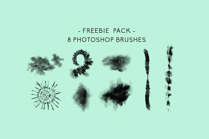 Download 8 Tiedye Photoshop Brush Free
