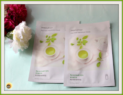 Innisfree My Real Squeeze Mask Green Tea Review