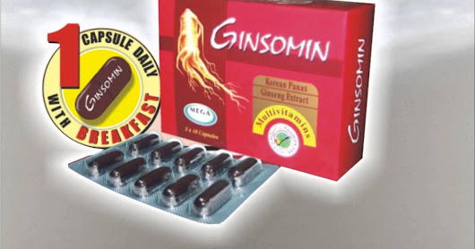 Ginsomin: A Rich Source of Nutrition