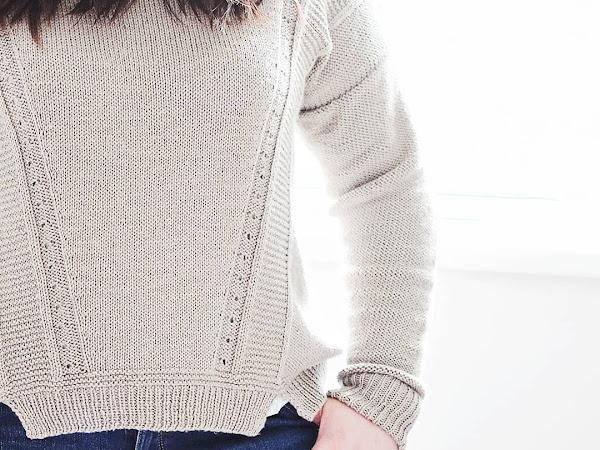 FO: The Tarragon Sweater