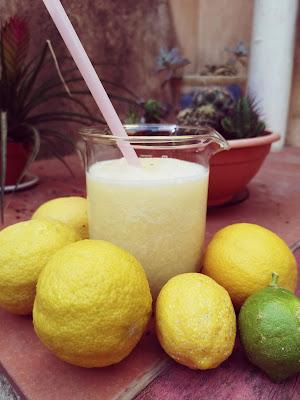 Limón granizado en la Thermomix