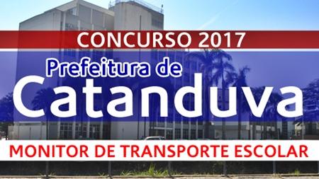 Apostila Prefeitura de Catanduva 2017