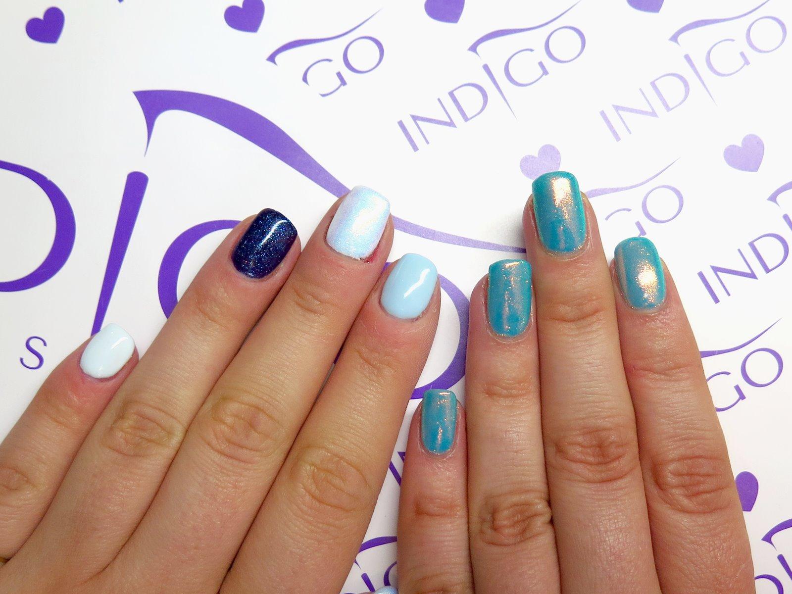 blogerki lakieromaniaczki indigo paznokcie hybrydowe
