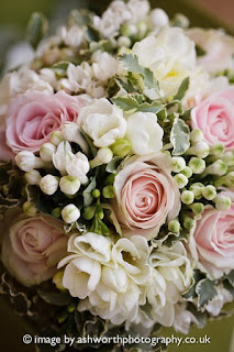 Pink Wedding Flowers Suffolk