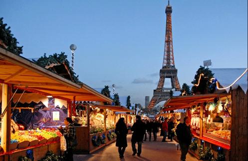 Du lịch châu Âu mùa Giáng sinh 2015