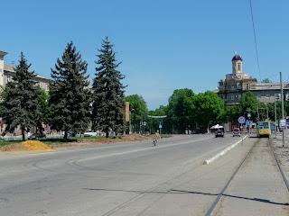 Дружковка. Площадь Соборная. Дом с башней