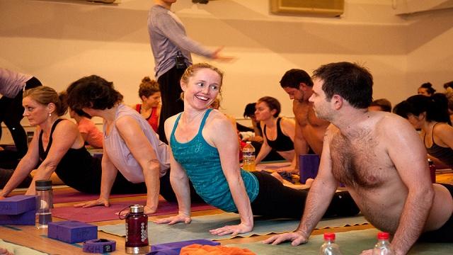 Bikram Choudhury Yoga poses  Wellness Online Benefit Video Classes