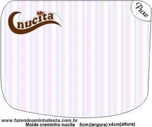 Arabescos en Celeste, Lila y Rosa: Etiquetas para Candy Bar de Quince Años para Imprimir Gratis.