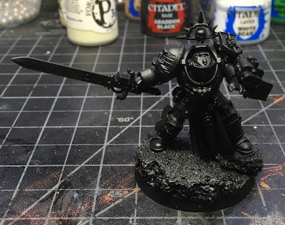 Grey Knights Brotherhood Champion WIP Primed