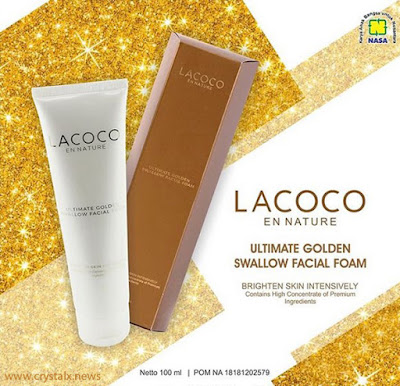 Lacoco Ultimate Golden Swallow Facial Foam