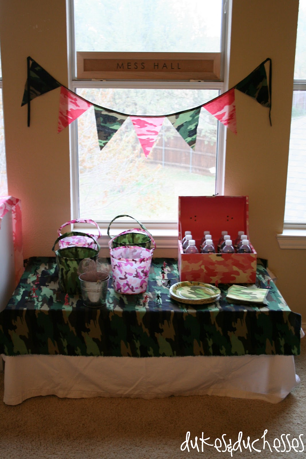 An Army Boot Camp Party Dukes And Duchesses