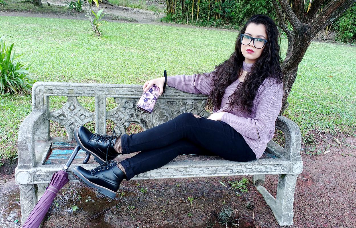 Look com Coturno + Recebidos