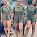 THIS GIEL IS HOT SHA!!: Nollywood Teenage Actress, Regina Daniels Flaunts Her S exy Long Legs