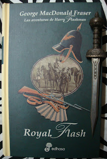 Portada del libro Royal Flash, de George MacDonald Fraser
