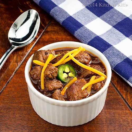 Texas-Style Chili con Carne