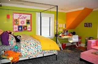 Decoración habitación juvenil