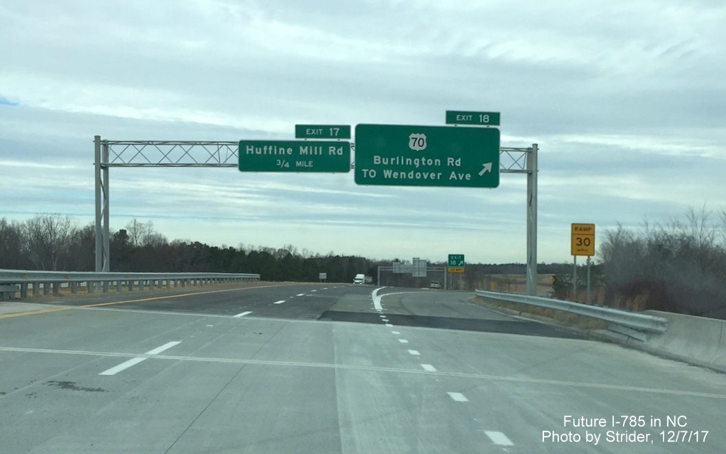 I 73i 74 year in review 2017 and the final segment of the i 140 wilmington bypass opened a couple weeks later no photos but you can view this video courtesy of the star news online sciox Gallery