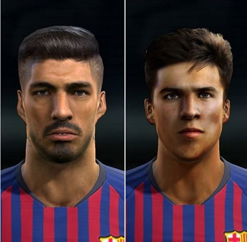 PES 2013 Luis Suarez Version 2 + update tattoo and R. Puig face by Sjr11facemaker