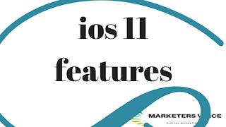 مميزات نظام ios 11