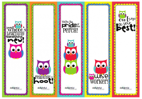 book marker template - from the heart up free printable bookmarks