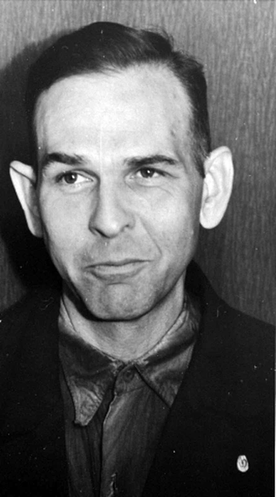 Amon Göth in 1946, shortly before his execution.
