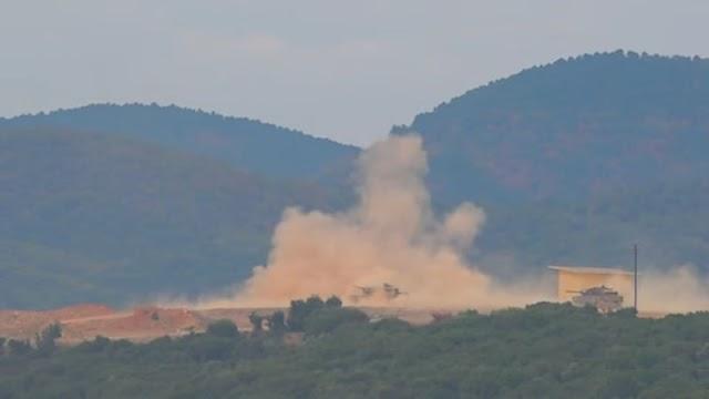 «Φωτιά κι ατσάλι» στον Έβρο-Καταιγισμός πυρών σε ασκήσεις «μήνυμα» προς Τουρκία