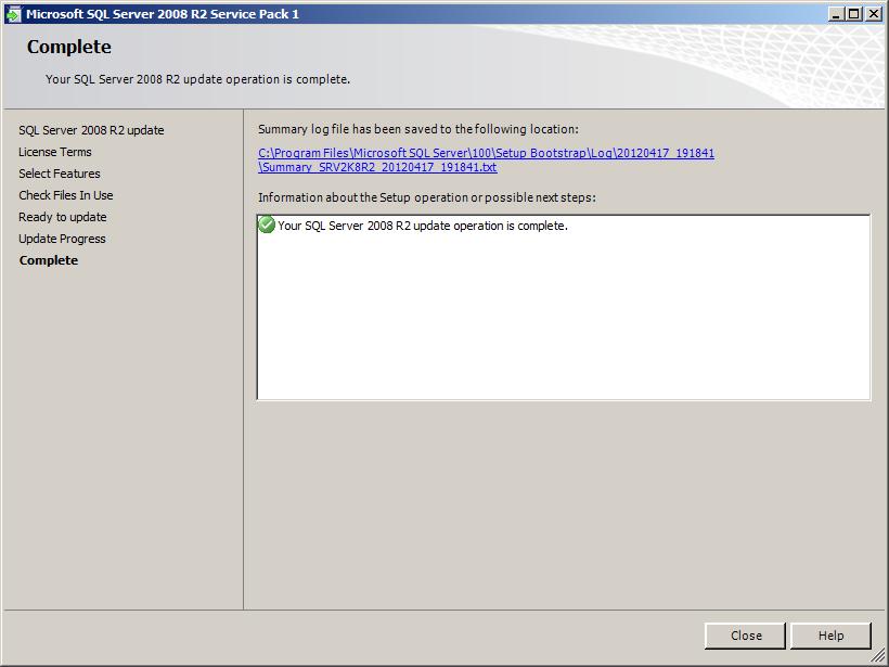 SQL Server 2012 ne sera pas installé sur Windows 8