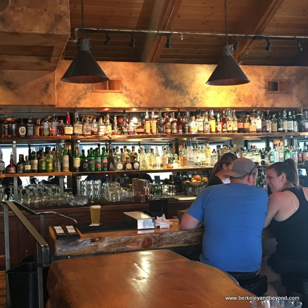bar at Mammoth Tavern in Mammoth Lakes, California