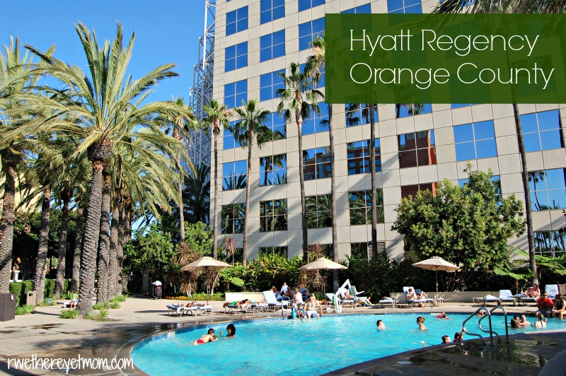 Hyatt Regency Orange County Anaheim California R We