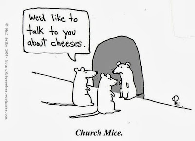 Two mice We'd like to talk to you about cheeses