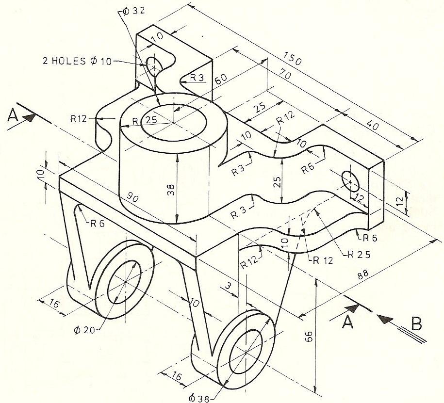 Mechanical Machine Design: Bevel Gear Support