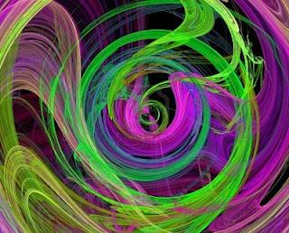 4589699 green purple spiral design image